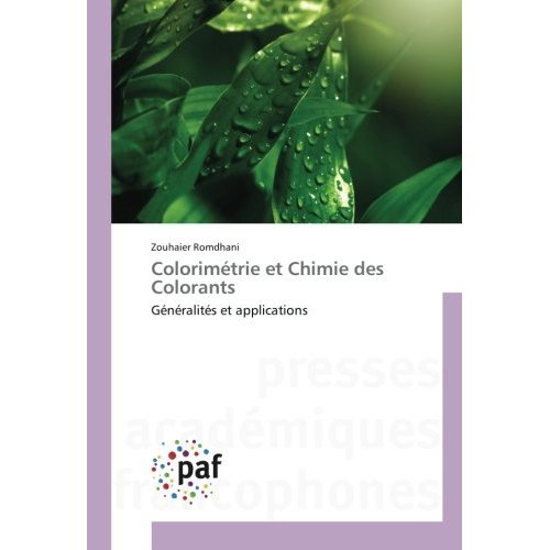 COLORIMETRIE ET CHIMIE DES COLORANTS