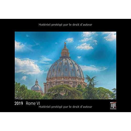 ROME VI 2019 EDITION NOIRE CALENDRIER MURAL TIMOKRATES CALENDRIER PHOTO CALENDRI