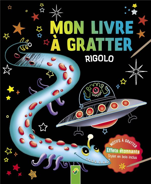 MON LIVRE A GRATTER RIGOLO