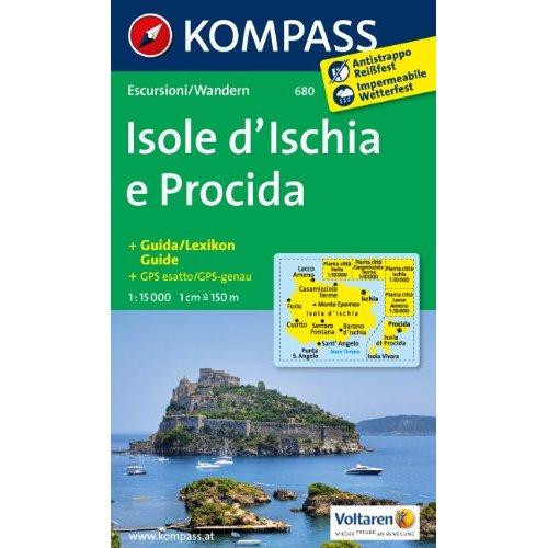 ISOLE D'ISCHIA E PROCIDA 680  1/15.000