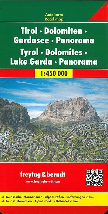 TYROL DOLOMITES LAKE GARDA PANORAMA