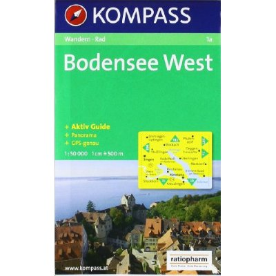 BODENSEE WEST 1A  1/50.000