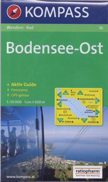 BODENSEE OST 1B  1/50.000
