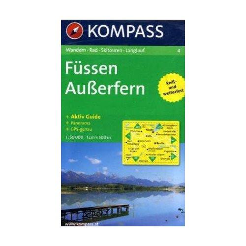 FUSSEN/AUSSERFERN 4  1/50.000