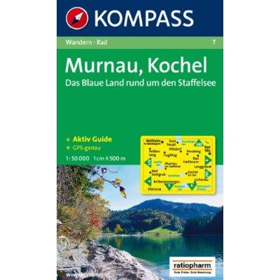 MURNAU/KOCHEL/STAFFELSEE  1/50.000 N 7