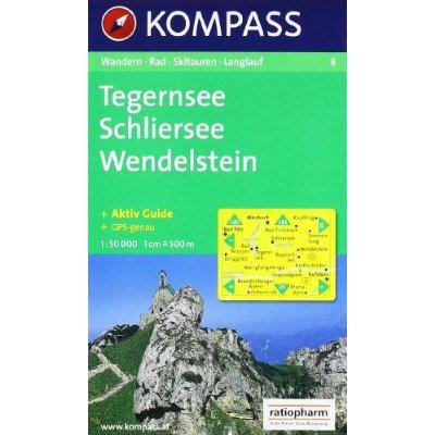 TEGERNSEE/SCHLIERSEE/WENDELSTEIN  1/50.000 N 8