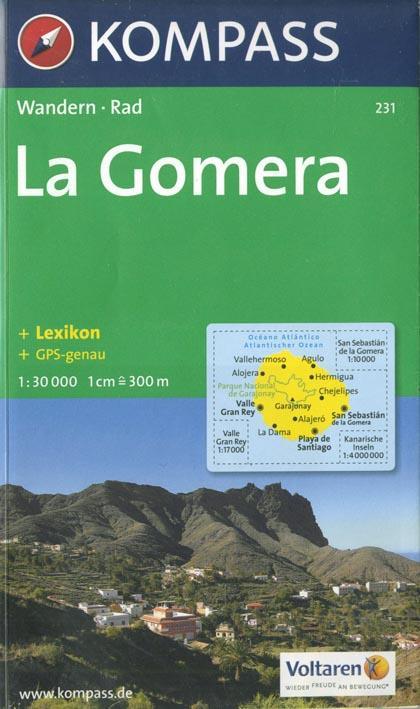 LA GOMERA 231  1/30.000