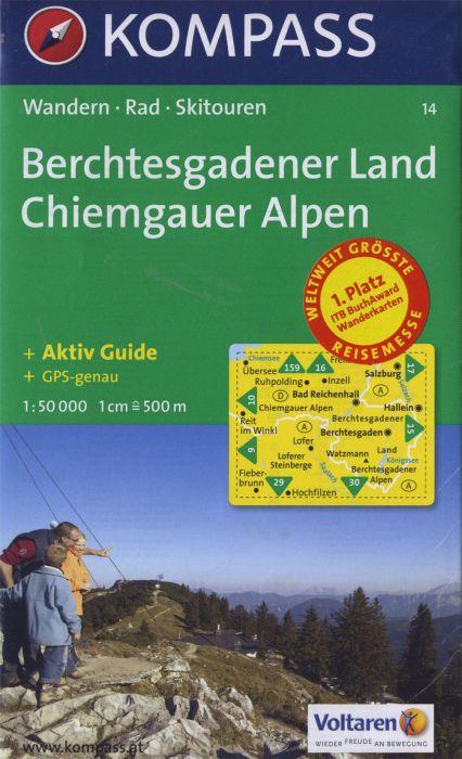 BERCHTESGADENER LAND/CHIEMGAUER ALPEN 14  1/50.000