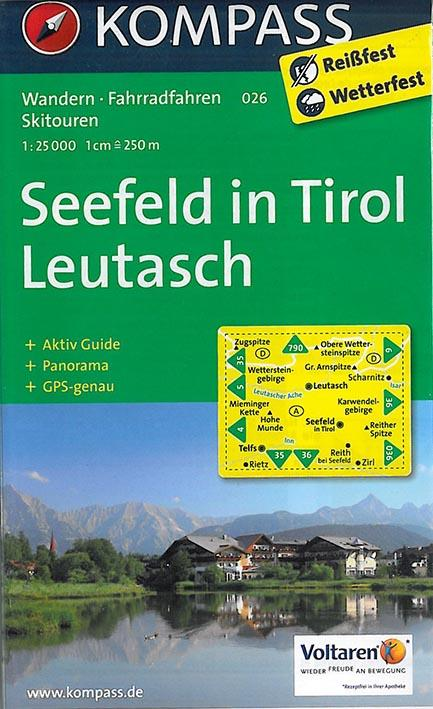 SEEFELD/TIROL 026  1/25.000