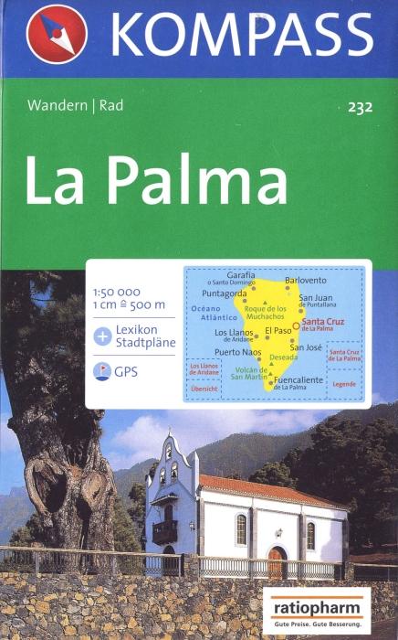 LA PALMA 232  1/50.000