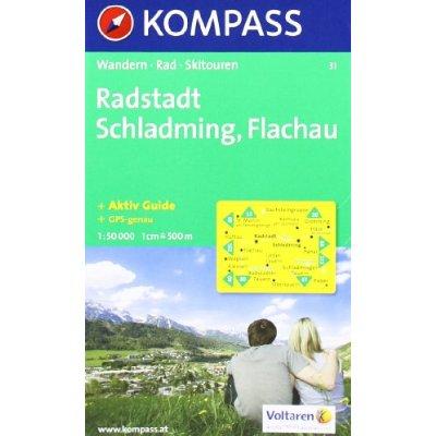 RADSTADT/SCHLADMING/FLACHAU 31  1/50.000