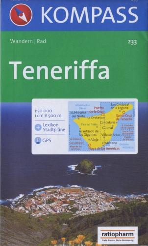 TENERIFFA 233  1/50.000