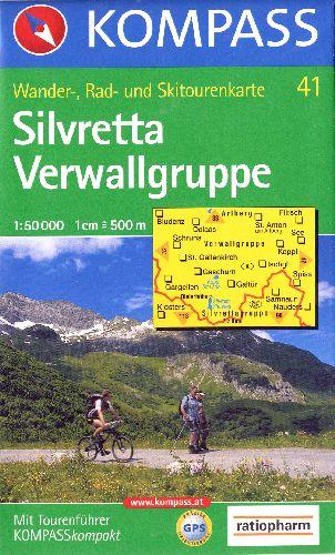 SILVRETTA/VERWALLGRUPPE 41  1/50.000