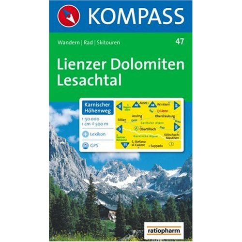 LIENZER DOLOMITEN/LESACHTAL 47  1/50.000