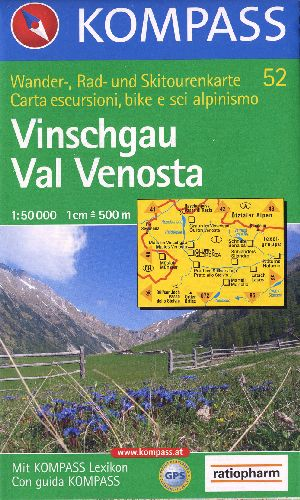 VINSCHGAU/VAL VENOSTA 1/50 000
