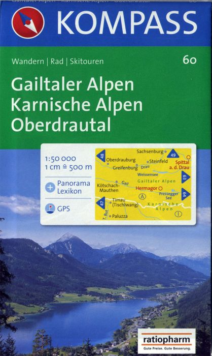 GAILTALER ALPEN/KARNISCHE ALPEN 60  1/50.000