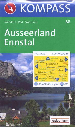 AUSSERLAND ENNSTAL 1/50 000