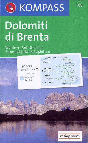 DOLOMITI DI BRENTA 73  1/30.000
