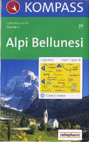 ALPI BELLUNESI 1/50 000