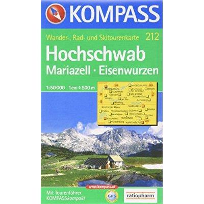 HOCHSCHWAB/MARIAZELL 212  1/50.000