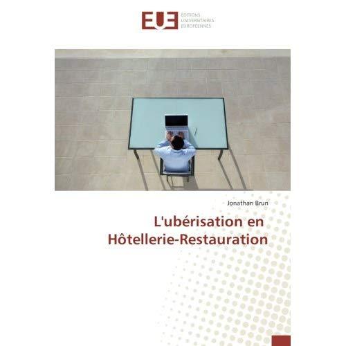 L'UBERISATION EN HOTELLERIE-RESTAURATION