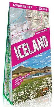 ISLANDE 1/500.000 (ANG) (CARTE D'AVENTURE GRAND FO