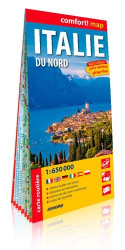 ITALIE DU NORD 1/650.000 (CART