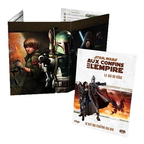 STAR WARS - AUX CONFINS DE L EMPIRE - KIT DU MAITRE DE JEU