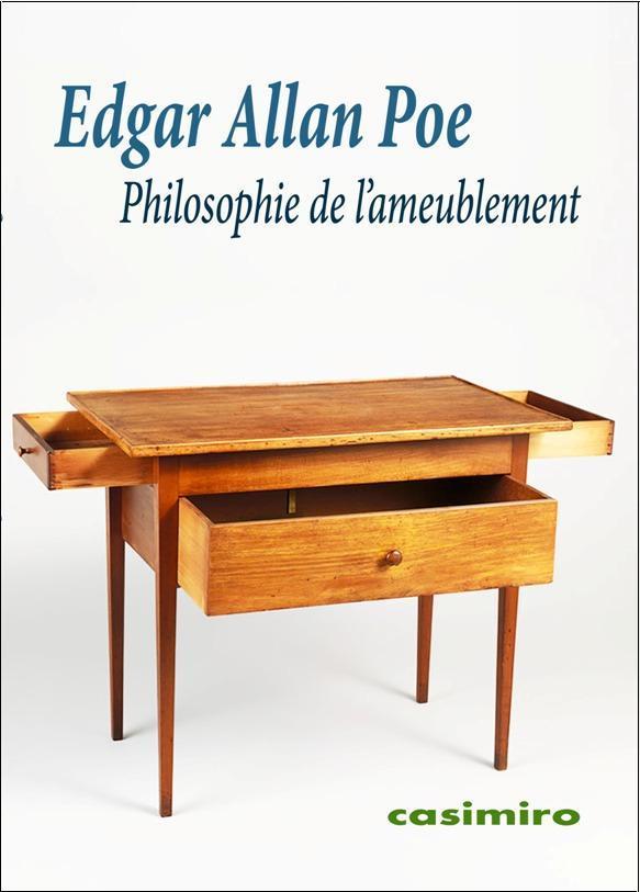 PHILOSOPHIE DE L'AMEUBLEMENT
