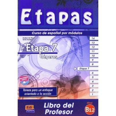 ETAPA 7  GENEROS  LIBRO DEL PROFESOR