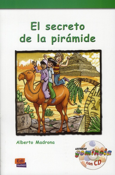 EL SECRETO DE LA PIRAMIDE  LIBRO  CD