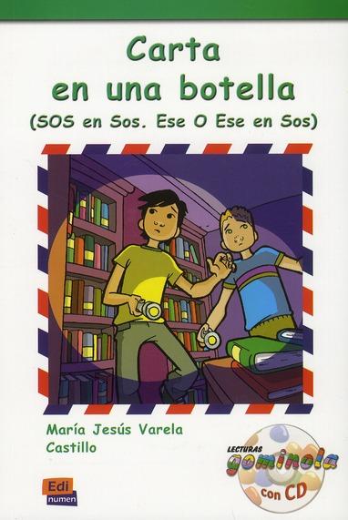 CARTA EN UNA BOTELLA  LIBRO  CD