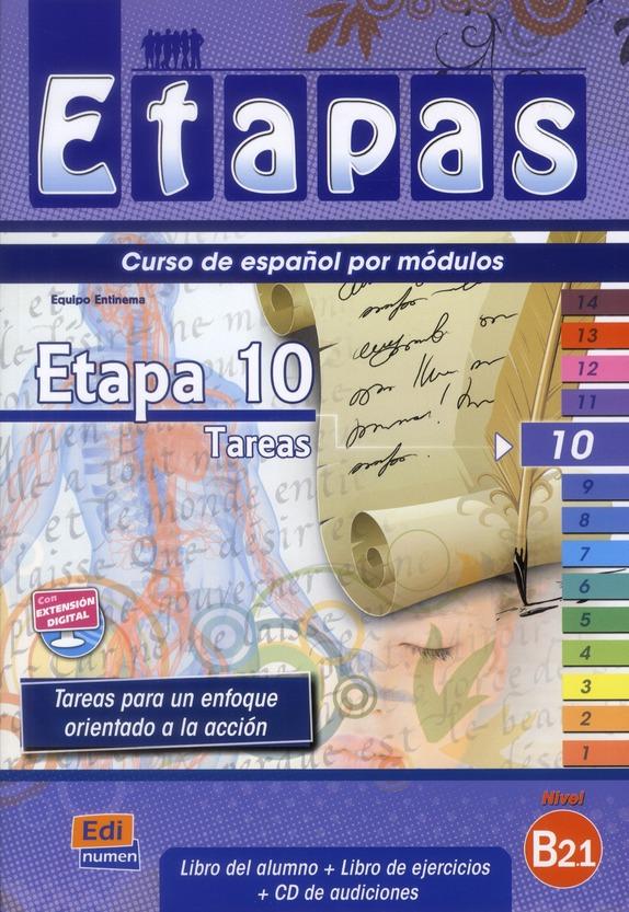 ETAPA 10  TAREAS  LIBRO DEL ALUMNO