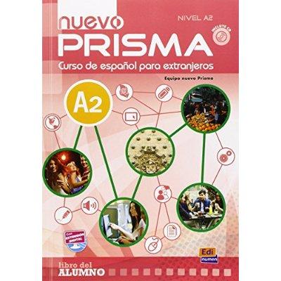 NUEVO PRISMA A2 LIBRO DEL ALUMNO CON CD