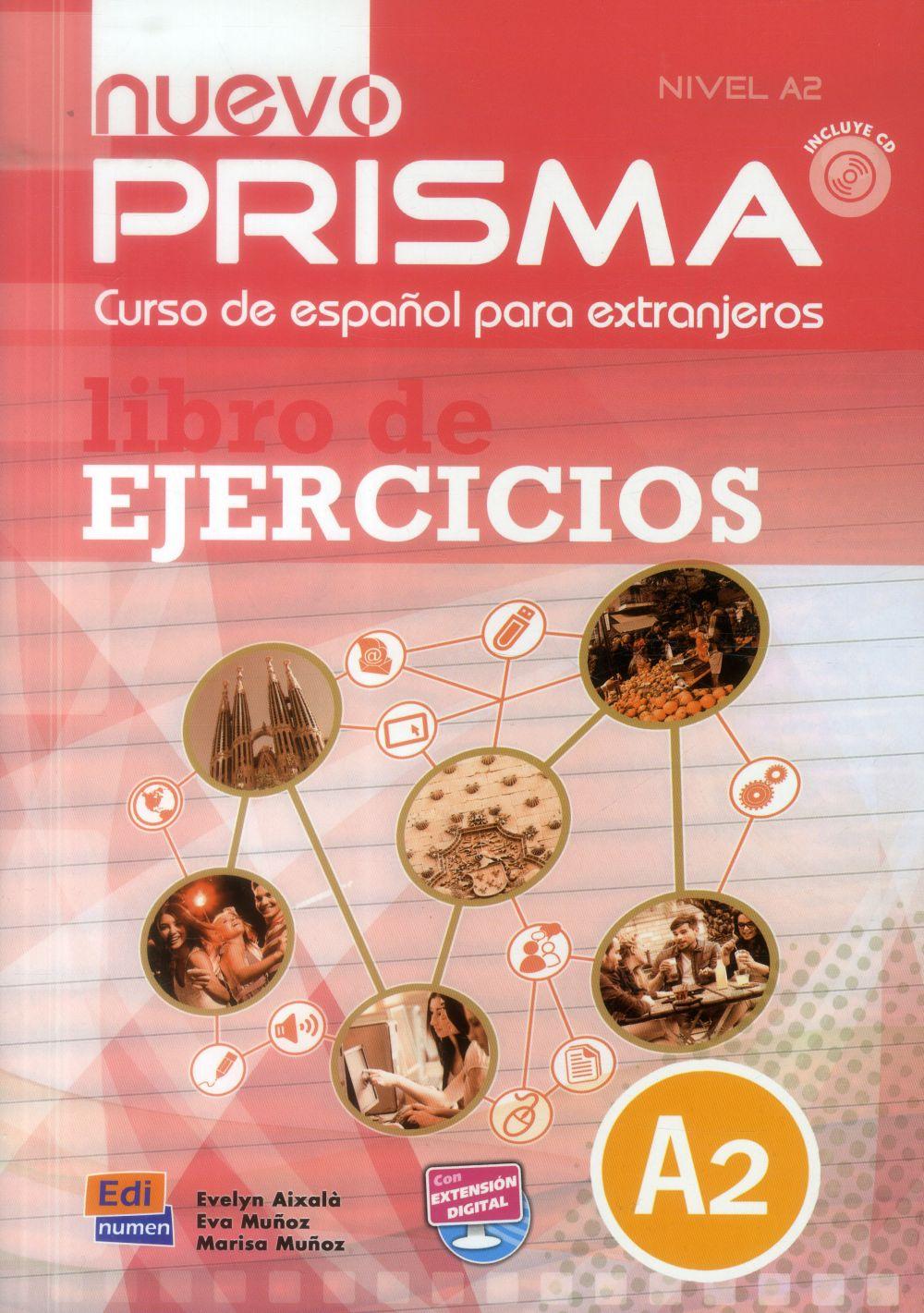 NUEVO PRISMA A2 LIBRO DE EJERCICIOS CON CD