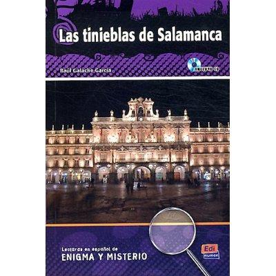 LAS TINIEBLAS DE SALAMANCA  LIBRO  CD
