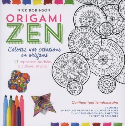 KIT ORIGAMI ZEN - COLOREZ VOS CREATIONS EN ORIGAMI