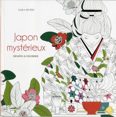 JAPON MYSTERIEUX - DESSINS A COLORIER