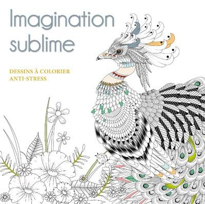 IMAGINATION SUBLIME - DESSINS A COLORIER ANTI-STRESS