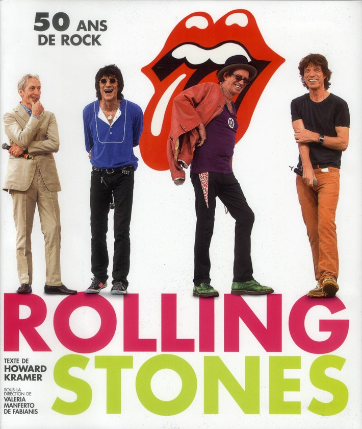 ROLLING STONES - 50 ANS DE ROCK
