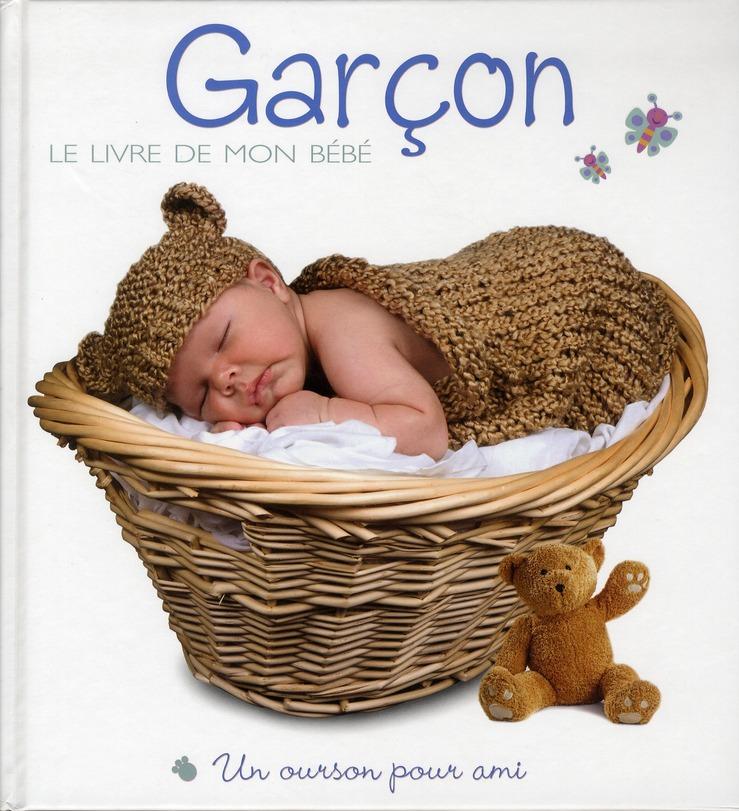 GARCON - LE LIVRE DE MON BEBE