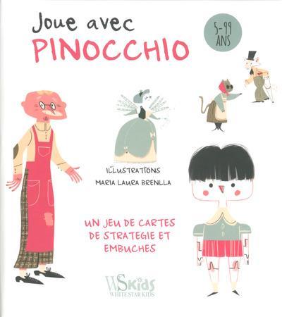 JOUE AVEC PINOCCHIO - JEU DE CARTES