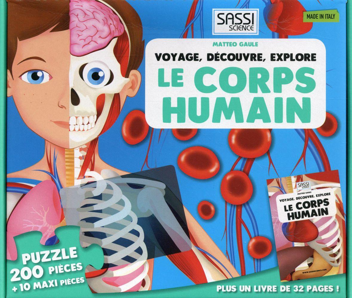 VOYAGE DECOUVRE EXPLORE LE CORPS HUMAIN