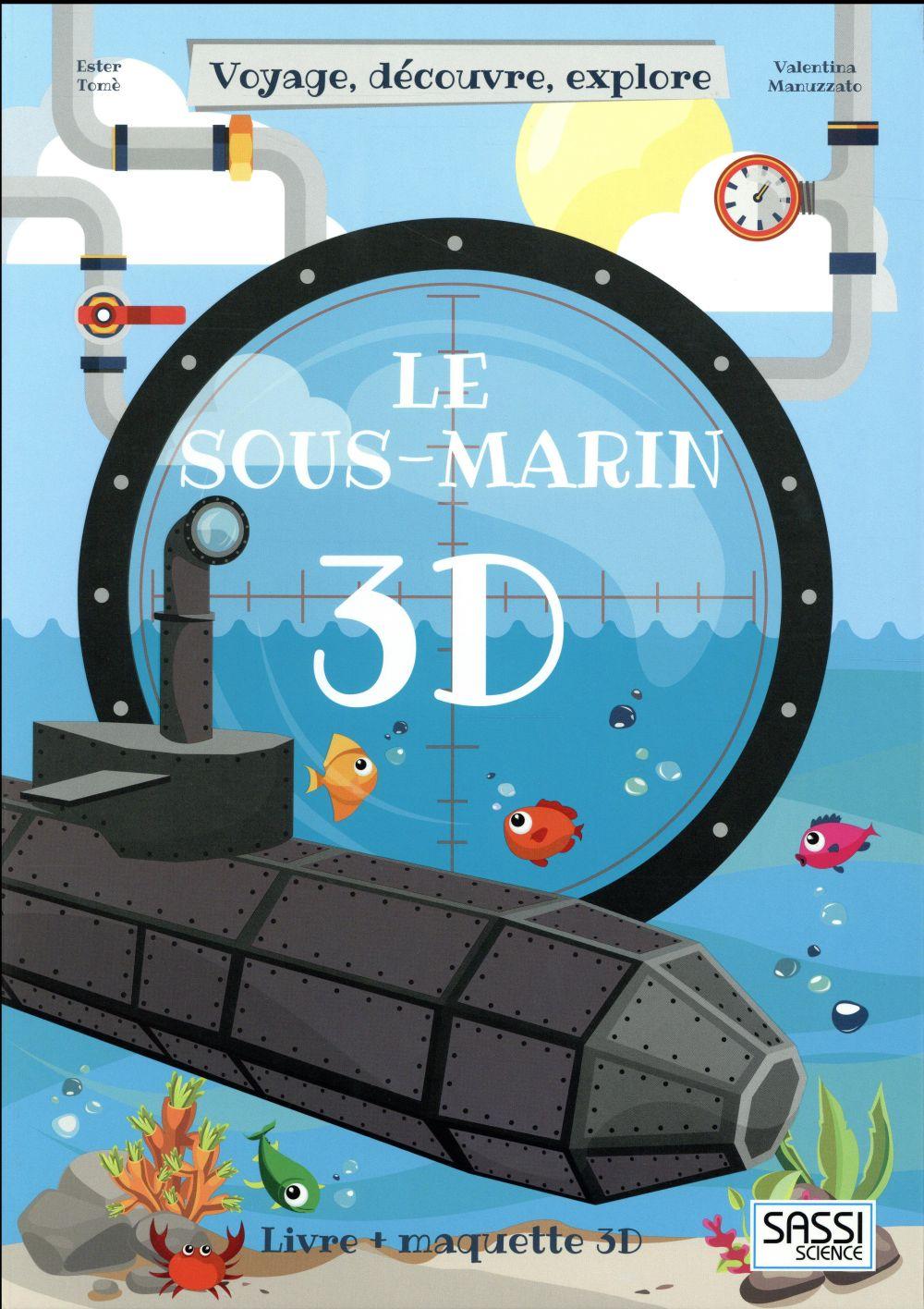 CONSTRUIS LE SOUS MARIN 3D