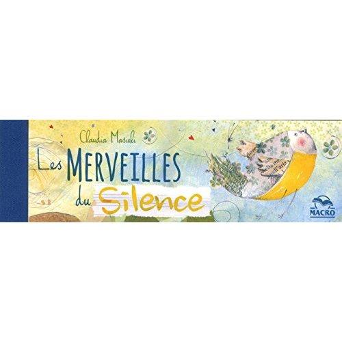 LES MERVEILLES DU SILENCE  MARQUE-PAGES CARNET DE 14 EX - CARNET DE 14 EX.