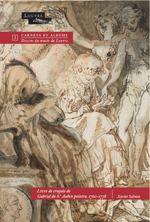 LIVRE DE CROQUIS DE GABRIEL DE SAINT-AUBIN PEINTRE 1760-1778