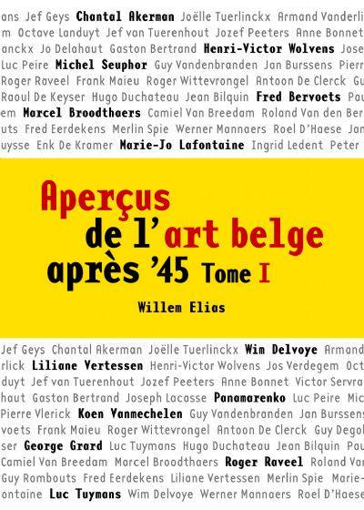 APERCUS DE L'ART BELGE APRES 45 T1