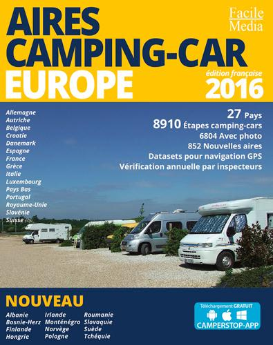 AED AIRES CAMPING-CAR EUROPE 2016