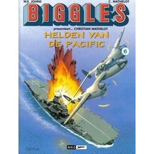 BIGGLES PRESENTEERT (AIRFILES) T6 CHRISTIAN MATHELOT...HELDEN VAN DE PACIFIC