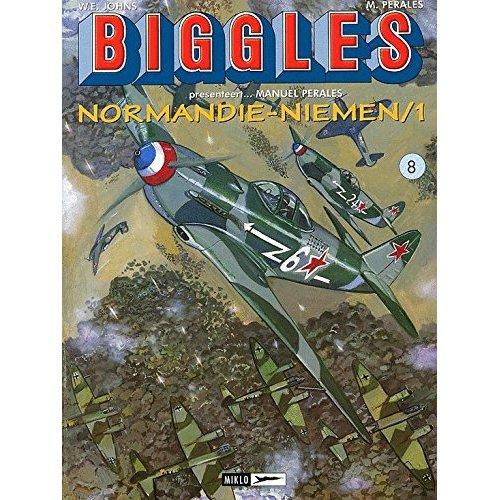 BIGGLES PRESENTEERT (AIRFILES) T8 MANUEL PERALES...NORMANDIE-NIEMEN DEEL 1